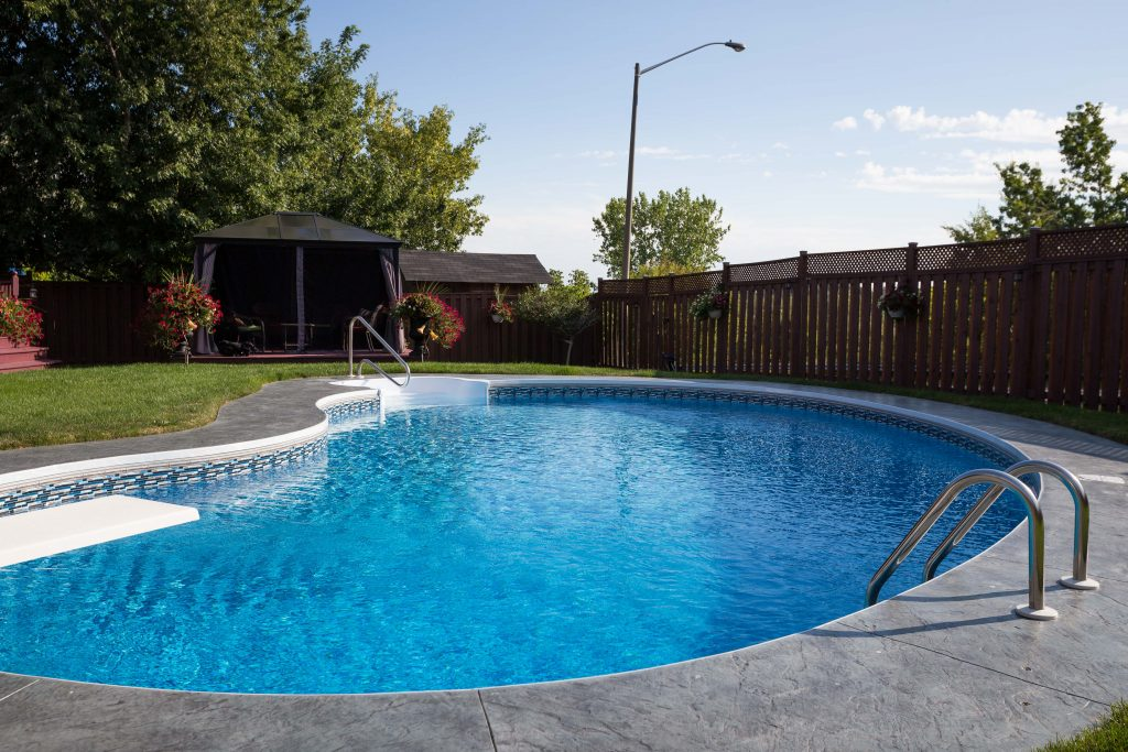 Pool liner gallery bremner pools spa - Witte pool liner ...