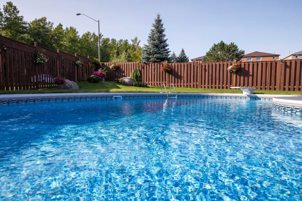 Pool liner gallery bremner pools spa for Pool pictures