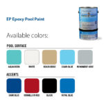 Ramuc EP Epoxy Pool Paint Colours